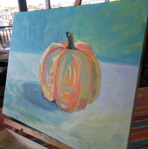 debbie pumpkin workinprogress